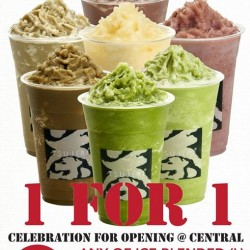 Tsujiri: 1–for–1 Ice Cream Promotion