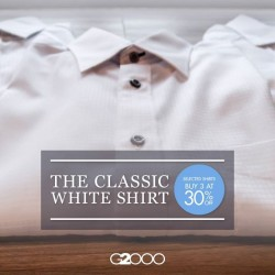 G2000: Select Shirts Buy 3 At 30% Off