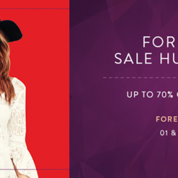 Forever 21: up to 70% off selected items at 313@Somerset