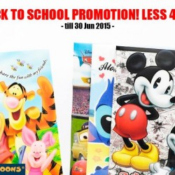 Mini Toons: Back To School Promotion