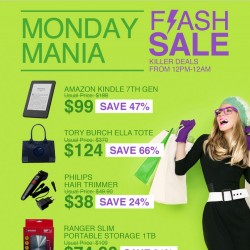 1 June 2015 Lazada Monday Mania — Kindle, Tory Burch Ella Tote and more  Additional 10% OFF with Mastercard bf0fcc69d41