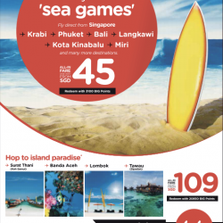 Get ready for more 'sea games' @ AirAsia