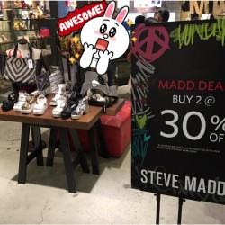 Buy 2 @ 30% OFF Madd Deals: That's what Steve Madden Calls its GSS 2015