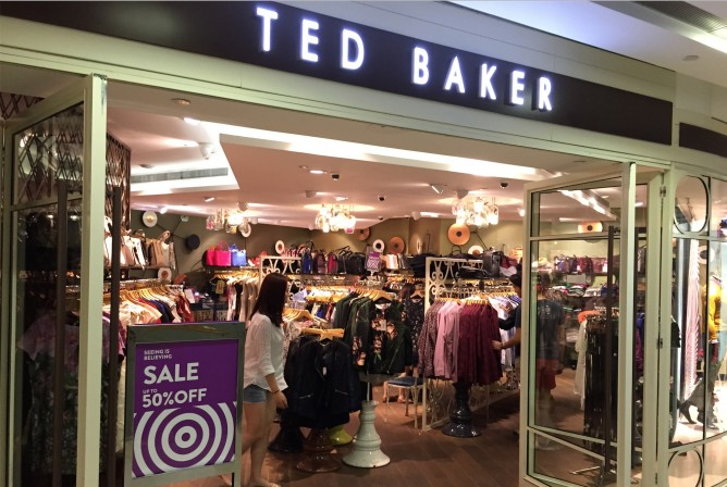 7016643d9501 Ted Baker offers up to 50% OFF Great Singapore Sale 2015 On Site Coverage