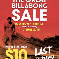 IMM: The Great Billabong Sale