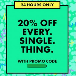 ASOS: 20% OFF Every Single Thing