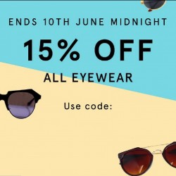 ZALORA: 15% OFF Coupon Code for all eyewear