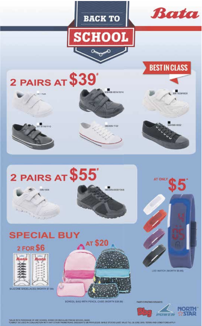 Bata: Back to School Sale