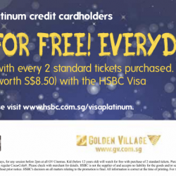 Golden Village: Kids Watch For Free Everyday with HSBC