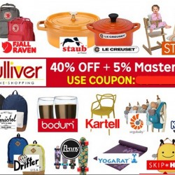 Gulliver via Rakuten: 40% OFF Storewide + additional 5% OFF when pay with mastercard