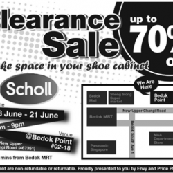 Scholl: Up to 70% Clearance Sale