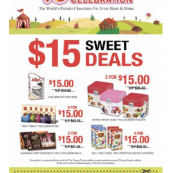 The Cocoa Trees: 15 Birthday Celebration, $15 Sweet Deals