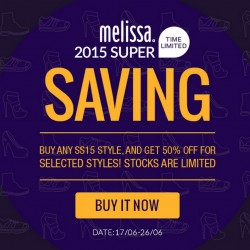 Mdreams: Melissa Super Saving 2015