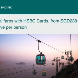 Cathay Pacific: Exclusive Deals For HSBC Credit Cardholders