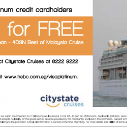 HSBC: Kids Cruise For Free