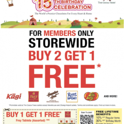 The Cocoa Trees: Storewide Buy 2 Get 1 Free For Members