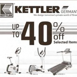 KETTLER: Up to 40% off selected items