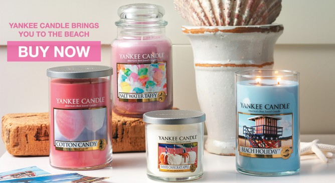 New 2015 Summer Fragrances Promotion @ Yankee Candle