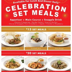 Bakerzin: Celebration Set Meals