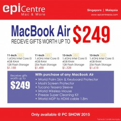 PC Show: EpiCentre MacBook Air Sale