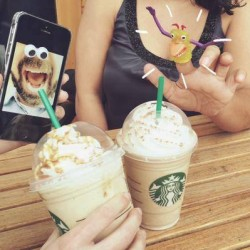 1-for-1 on Venti-sized Orange Honeycomb Crunch or Triple Coffee Frappuccino with your Starbucks Mobile App