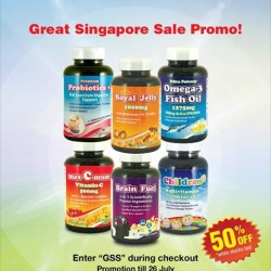 Nature's Farm: 2015 Great Singapore Sale Promotion