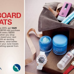 SilkAir: Inflight duty-free promotion