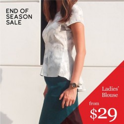 G2000: End Of  Season Sale Ladies' Blouse From $29