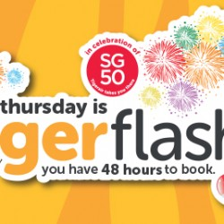 Tigerair: SG50 48 hours flash sale