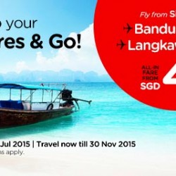 AirAsia: $45 Air Fares