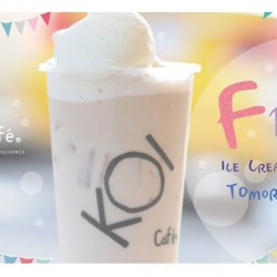 KOI Café: Free ice cream topping every Wednesday with your KOI card