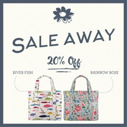 Cath Kidston: 20% off Large Open Carry All bag at $63.20 (usual price: $79)