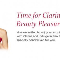 Clarins: Receive a 7-pc Luxurious Gift Set worth $150 with your $150 spend @ Tangs