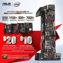 ASUS: world's best- selling and most award winning motherboards.