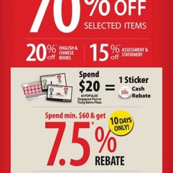 POPULAR Singapore Post and Tiong Bahru Plaza Relocation Special: up to 70%* off