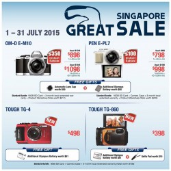Olympus: Great Singapore Sale