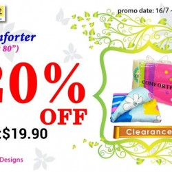 JAPAN HOME: Comforter at 20% Off (U.P. $19.90)
