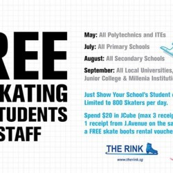 The Rink: FREE Ice Skating for Students & Staffs