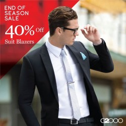 G2000: End of Season Sale --- 40% OFF Suit Blazers