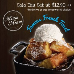 Miam Miam: Solo Tea Set at $12.90++