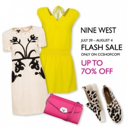 Nine West: ONLINE-EXCLUSIVE FLASH SALE Up to 70% Off