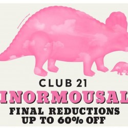 Club21: Enjoy further discounts of up to 60% off designer selections