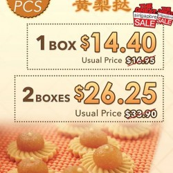 Bee Cheng Hiang: Pineapple Tarts Sale