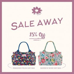 Cath Kidston: 15% OFF These two best-selling Day Bags