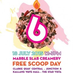 Marble Slab Creamery: Free Scoop Day
