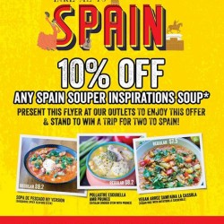The Soup Spoon:10% off any Spain Souper Inspirations soups