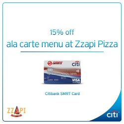 Zzapi Pizza: 15% Off Ala Carte Menu
