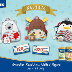 Friso: Receive a $20 voucher when you Purchase $200 worth Friso products