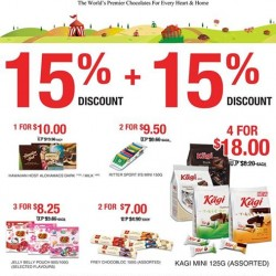 The Cocoa Trees: 15% + 15% Off + Free Ritter Sport Squares