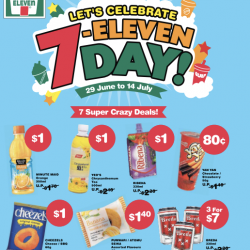 711: Celebrate 711 day with super deals